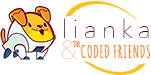 Lianka and the Coded Friends Logo