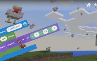 Make Code Minecraft